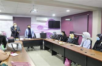 محافظ الوادي الجديد يتفقد مركز تدريب مقدمي الخدمات لذوي الهمم في الخارجة| صور