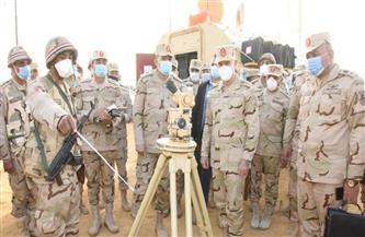 رئيس الأركان يطالب قوات المنطقة المركزية بالجاهزية لتنفيذ ما يوكل إليهم من مهام| صور