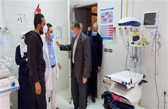 محافظ الشرقية يزور مستشفى الحسينية.. ويؤكد: سعة تنك الأكسجين 6 آلاف لتر والاستهلاك اليومي 1700| صور