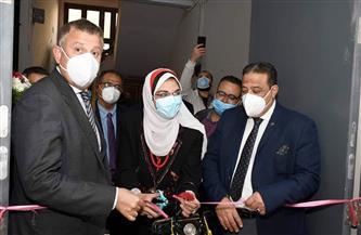 رئيس جامعة عين شمس يفتتح مركز الإبصار الإلكتروني وإدارة شئون الطلاب بكلية الآداب| صور