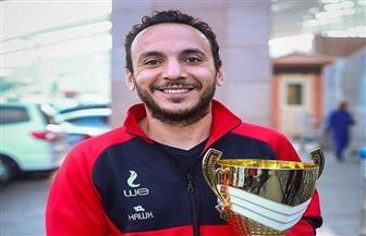 محمد البيلي يفوز بالميدالية الذهبية في بطولة الجمهورية لتنس الطاولة