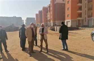 مسئولو «الإسكان» يتفقدون مشروع عمارات السلام بمدينة العبور