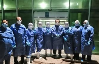 تعافي وخروج 14 من مصابي فيروس كورونا من العزل الصحي بكفرالزيات