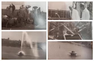 «نافورة النيل».. حكاية تاريخية عن مصر الجميلة تعود للنور من جديد | فيديو وصور