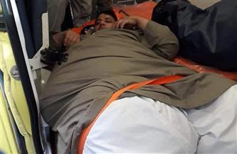 وزيرة الصحة تستجيب لمناشدة مريض سمنة مفرطة.. وتوجه بعلاجه على نفقة الدولة   صور