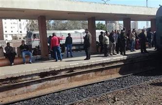 سقوط طفل من قطار المنصورة - المطرية