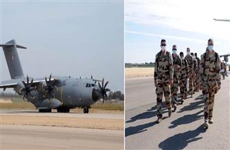 القوات المسلحة المصرية والفرنسية تنفذان تدريبًا جويًا مشتركًا بإحدى القواعد الجوية المصرية
