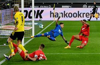 دورتموند يهزم أوجسبورج ويحقق انتصاره الأول في أربع مباريات