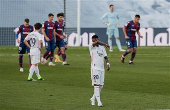 ريال مدريد يسقط في فخ الخسارة أمام ليفانتي في الدوري الإسباني