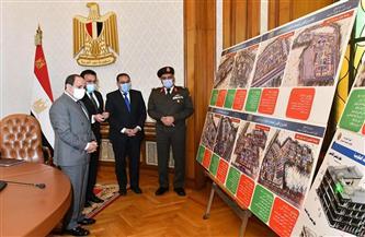 ننشر صور ومخططات الجامعات الأهلية الجديدة التي استعرضها الرئيس السيسي اليوم