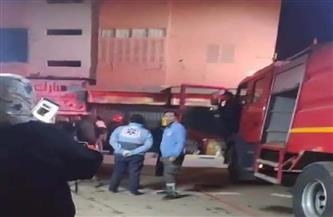 حريق يلتهم محتويات شقة فى طنطا بسبب ماس كهربائي