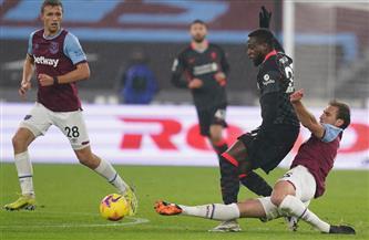 التعادل السلبي يحسم الشوط الأول بين ليفربول ووست هام بالدوري الإنجليزي