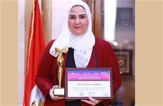 تكريم نيفين القباج ضمن أهم 7 سيدات مؤثرة على مستوى الوطن العربي