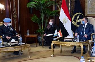 وزير الداخلية يستقبل المستشار الشرطي لـ«حفظ السلام» بالأمم المتحدة| صور