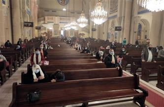 استئناف القداسات بكنائس الإسكندرية بـ 8 إجراءات احترازية| صور