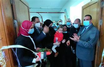 محافظ البحيرة ورئيس جامعة دمنهور يفتتحان مدرج الشهيد أحمد مناع| صور