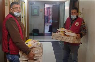 أوقاف دمياط توزع 240 وجبة على مرضى 3 مستشفيات بدمياط | صور