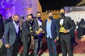 «المهن التمثيلية» تهنئ أبناءها الفائزين بجوائز مهرجان العين السينمائي |صور