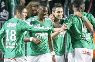 سانت ايتيان يستعيد اتزانه في الدوري الفرنسي بفوز متأخر على نيس