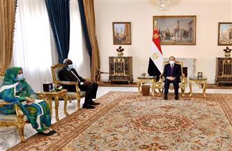 الرئيس السيسي يؤكد أن مصر لم ولن تدخر جهدا تجاه دعم أشقائها الأفارقة