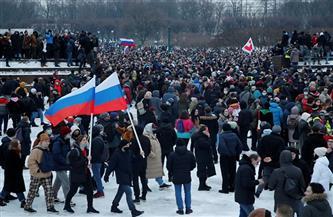اعتقال أكثر من 2100 شخص في مظاهرات دعم نافالني بروسيا