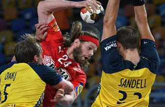 الشوط الأول: السويد والدنمارك يتعادلان بنتيجة (13-13) في نهائي مونديال اليد