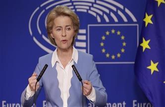 رئيسة المفوضية الأوروبية تدعو إلى تأييد اتفاق التجارة مع بريطانيا