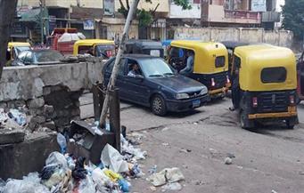 «تكاتك» وقمامة وتعدٍ على الطريق.. الفوضى تضرب «بولكلى» حى شرق: نشن حملات إزالة بالتنسيق مع المرافق