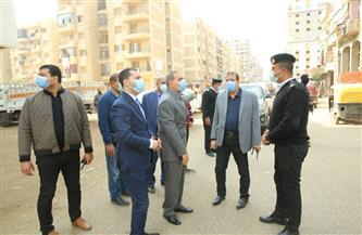 محافظ كفر الشيخ يقرر تحويل شارع 21  لاتجاهين وغلق 5 مقاه ومطاعم مخالفين | صور