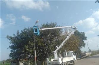محافظ كفرالشيخ: تنفيذ أعمال تطوير شبكات الكهرباء بمراكز وقرى المحافظة|صور