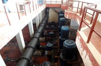 قطع المياه عن حي راشد والعمري وحوض الثلاثين بمدينة سوهاج|صور