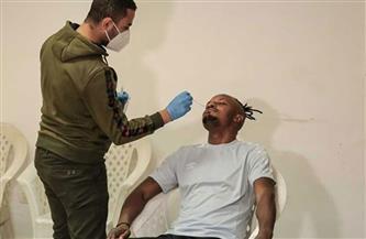 مسحة طبية لبعثة المقاولون العرب اليوم قبل مواجهة النجم الساحلي