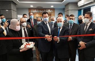 محافظ بورسعيد يفتتح فرع البنك الأهلي المصري اللوجيستي  صور