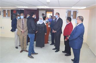 رئيس جامعة سوهاج يتفقد مركز تنمية الموارد البشرية تمهيدا لافتتاحه قريبا| صور