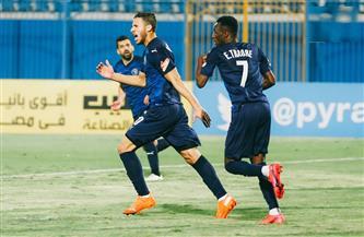 بيراميدز بالزي الأزرق الكامل أمام الاتحاد الليبي