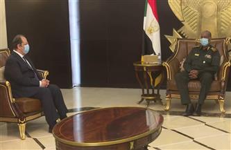 رئيس المخابرات العامة يبحث ملفات التعاون الثنائي مع القيادات السودانية فى مختلف المجالات
