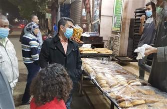 حملة بمدينة البياضية للتأكد من تطبيق الإجراءات الاحترازية | صور