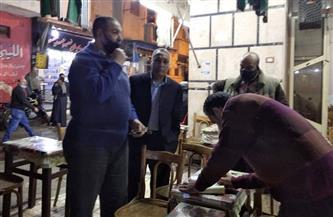تغريم 204 أشخاص لعدم ارتدائهم الكمامة بالإسكندرية  صور