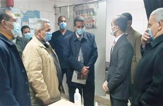 نائب محافظ سوهاج يتفقد مستشفى البلينا المركزي| صور