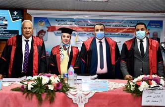 حصول أول عضو بالإدارة القانونية بجامعة طنطا على الدكتوراه بمرتبة الشرف| صور