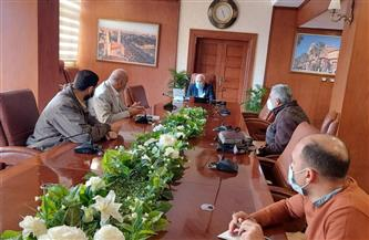 محافظ بورسعيد يتابع سير العمل في إنشاء النقاط الأمنية ببوغازي ١و٢