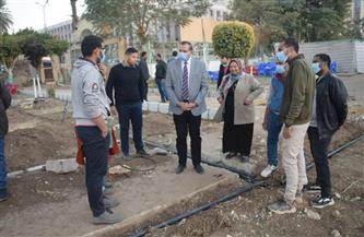 رئيس جامعة سوهاج يتفقد أعمال تطوير نادي هيئة التدريس بتكلفة 450 ألف جنيه| صور