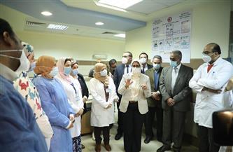 وزيرة الصحة تتفقد مستشفى عزل ١٥ مايو.. وتؤكد للأطقم الطبية ثقة القيادة السياسية في جهود الأطقم الطبية|صور