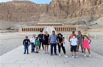 سفراء ورؤساء بعثات منظمات دولية ومسئولين صرب سابقين يقضون عطلة رأس السنة في مصر | صور