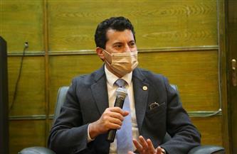 وزير الرياضة: مصر حديث الصحف العالمية بفضل الدعم غير المحدود من القيادة السياسية