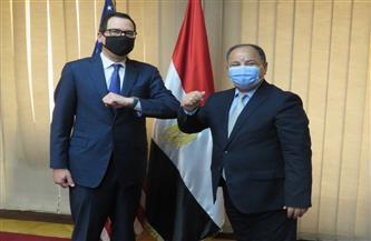 وزير المالية: مستعدون لإزالة أى عقبات لزيادة استثمارات الشركات الأمريكية فى مصر