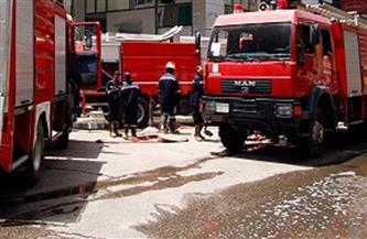 السيطرة على حريق محل تجاري ببولاق أبو العلا