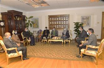 محافظ أسيوط يلتقي رئيس جهاز مدينة ناصر الجديدة لمتابعة الموقف التنفيذى للمشروعات| صور