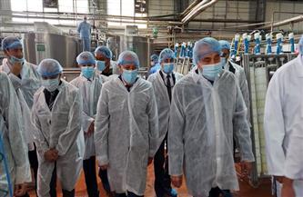 مصيلحي والغضبان يفتتحان المرحلة الثانية من مصنع إنتاج الزيوت في بورسعيد.. ويتفقدان مصنع ريادة | صور