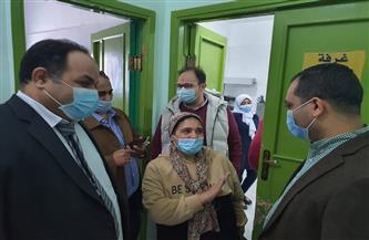رئيس مدينة سفاجا تتفقد المستشفى المركزي وتناقش اقتراح إنشاء قسم الأورام | صور